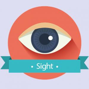 icône visuel